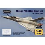 Mirage 2000 Flap down set