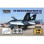 F/A-18A/B/C/D Hornet F404 Engine Nozzle set