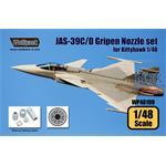 JAS-39C/D Gripen RM12 Engine Nozzle set