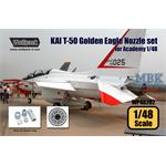 KAI T-50 Golden Eagle F404 Engine Nozzle set
