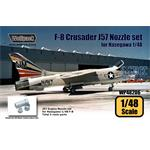 F-8 Crusader J57 Engine Nozzle set