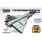 F-102 Delta Dagger J57 Engine Nozzle set