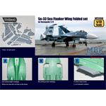 Su-33 Sea Flanker Wing Folded set