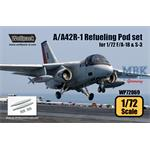A/A42R-1 Refueling Pod set (for 1/72 F/A-18 & S-3)