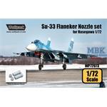 Su-33 Sea Flanker AL-31F Engine Nozzle set