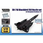 SR-71A Blackbird J58 Engine Nozzle set