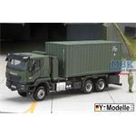 IVECO 260W, 6x6, FPS  Containertransp. + 20Ft Cont