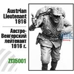 Austrian Lieutenant, 1916