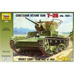 WWII Russ. Panzer T-26
