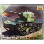 1:100 WWII Sov. T-26