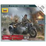 1:72 WWII dt. Motorrad R-12
