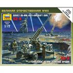1:72 WWII sov. 85mm Anti-Aircraft-Gun