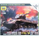 1:100 Soviet T-34/76