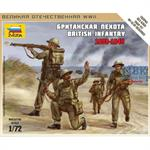 1:72 WWII britische Infanterie