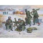1:72 Deutsch.80-mm Mörser m.Crew (Winter)