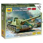 1:100 Self Propelled Gun SU-100