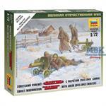 1:72 Sov.Maschinengewehr m.Crew (Winter)