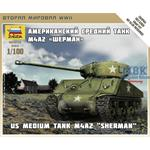 US Medium Tank M-4A2  Sherman 1:100