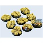Temple Bases, WRound 30mm