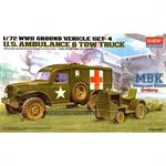 U.S. AMBULANCE & BOMB TRACTOR