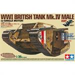 WWI Brit. Panzer Mk. IV Male