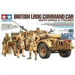 Brit. LRDG Befehlswagen w/Figures