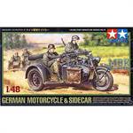 German Motorcycle & Sidecar