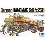 Sd.Kfz. 251/1 Hanomag inkl. 5 Figuren
