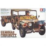 M151A2 Jeep with cargo Trailer