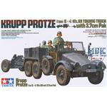 Krupp Protze mit 3,7 cm PAK