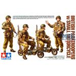 WWII British Paratroopers & Mini Bike Set