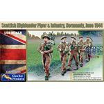 Scottish Highlander Piper & Infantrie - Normandy