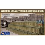 WWII US 20L Jerry Can Set (Value pack)