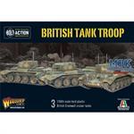 Bolt Action: British Cromwell Cruiser tank troop