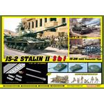 JS-2 Stalin II + Soviet Infantry Tank Riders 3in1