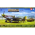 P-51D Mustang & U.S. Army Staff Car