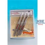 Super Micro Tip Tweezers - 3 Pack