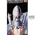 Boeing 747 +  Space Shuttle 1:288