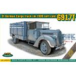 3t German Cargo Truck ( m.1939 soft cab) G917T