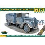 3t German Cargo Truck ( m.1939 soft cab) G917T