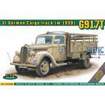 3t German Cargo truck (m.1939) G917T metal cab