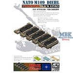 NATO M-109 Diehl workable track links