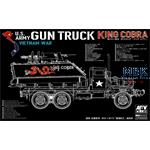 "US Army Vietnam war Gun Truck ""King COBRA"""