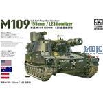 M109 155mm L23 howitzer