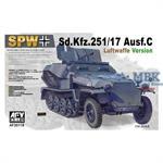 Sd.Kfz. 251/17 Ausf C - Luftwaffe