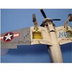 F4U Corsair Fahrwerkschacht