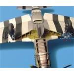 P-51D Mustang Fahrwerkschacht