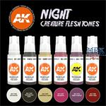 NIGHT CREATURES FLESH TONE (3rd Generation)