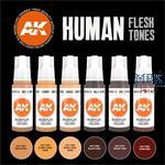 HUMAN FLESH TONES (3rd Generation)