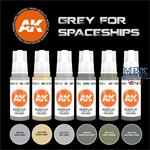 GREY FOR SPACESHIPS (3rd Generation)
